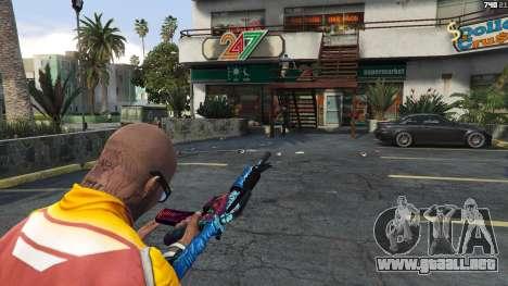 GTA 5 Hyper Beast Edition: M4A1-S cuarto captura de pantalla