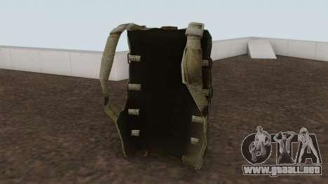 Original HD Parachute para GTA San Andreas segunda pantalla