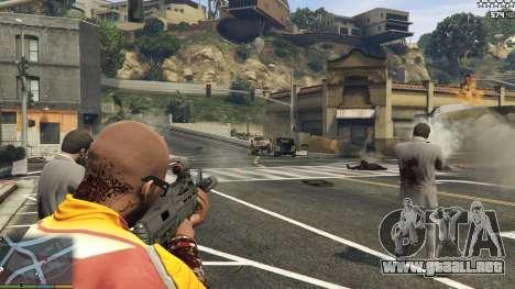 El ejército en lugar de la policía en 5-stars v1 para GTA 5