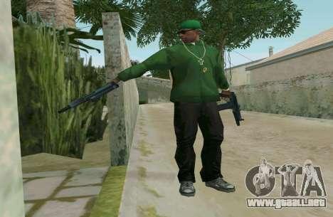 AKS-74U para GTA San Andreas quinta pantalla