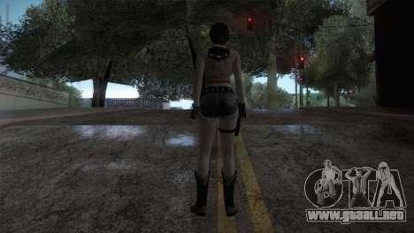 Resident Evil HD - Rebecca Chambers Cowgirl para GTA San Andreas tercera pantalla