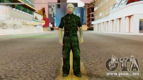 Old Wmyammo para GTA San Andreas segunda pantalla