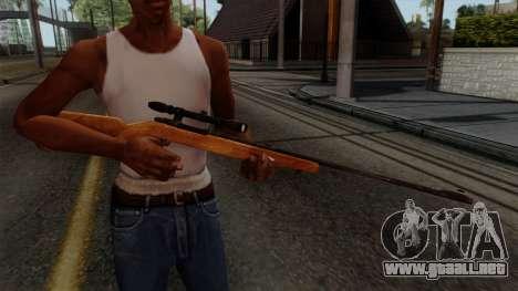 Original HD Sniper Rifle para GTA San Andreas