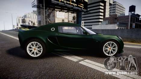 Lotus Exige 240 CUP 2006 Team Lotus para GTA 4 left