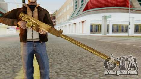 MG-81 from Hidden and Dangerous 2 para GTA San Andreas tercera pantalla