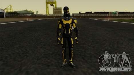 Ant-Man Yellow Jacket para GTA San Andreas segunda pantalla