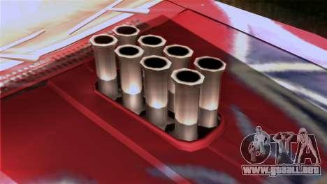 Ford Falcon XA Red Bat Mad Max 2 para GTA San Andreas vista hacia atrás