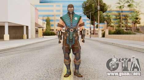 [MKX] Sub-Zero Masked para GTA San Andreas segunda pantalla