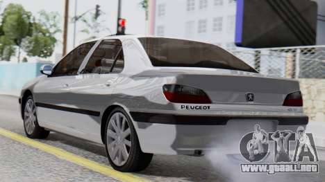 Peugeot 406 para GTA San Andreas left