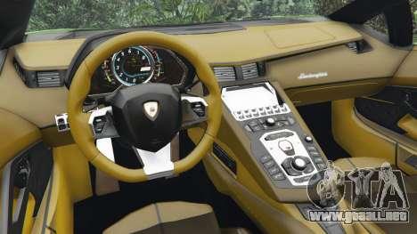 Lamborghini Aventador LP700-4 v1.0 para GTA 5