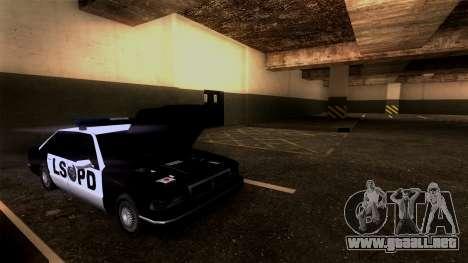 Nueva LSPD Aparcamiento para GTA San Andreas