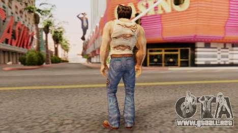 Wolverine v1 para GTA San Andreas tercera pantalla