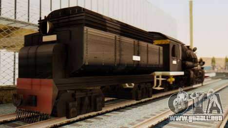 CC5019 Indonesian Steam Locomotive v1.0 para GTA San Andreas left