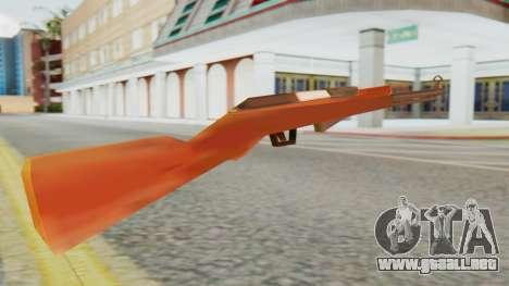 SKS SA Style para GTA San Andreas segunda pantalla