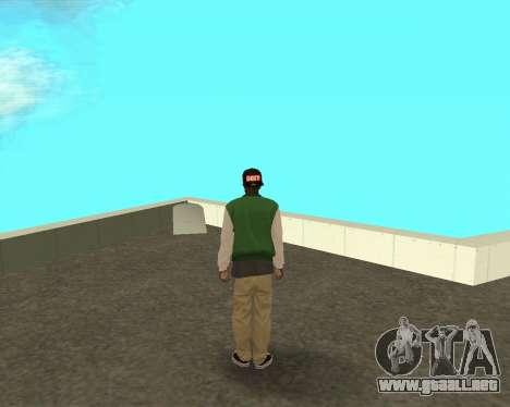 El nuevo chico en el bloque de grove Street para GTA San Andreas segunda pantalla