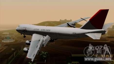Boeing 747 JAL para GTA San Andreas left