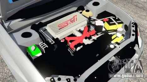 Subaru Impreza WRX STI 2005 para GTA 5