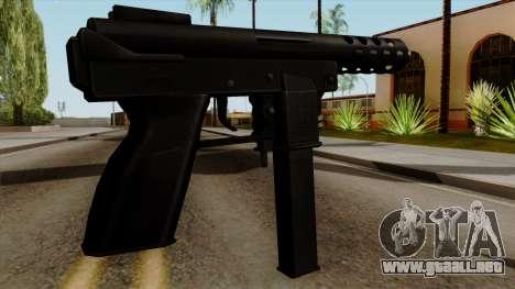 Original HD Tec9 para GTA San Andreas segunda pantalla