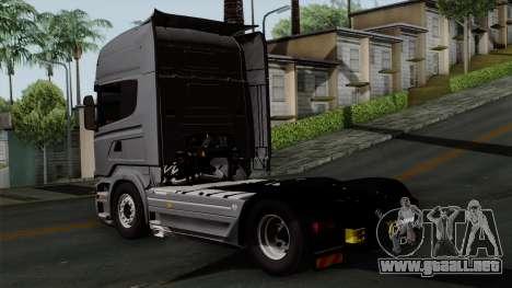Scania R730 Streamline 4x2 para GTA San Andreas left