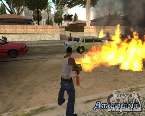 HQ Effects and Sun Final Version para GTA San Andreas tercera pantalla