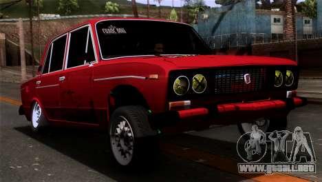 VAZ 2106 BC para GTA San Andreas left
