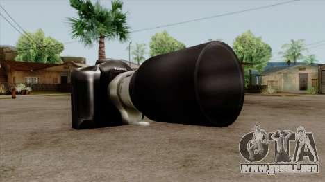 Original HD Camera para GTA San Andreas