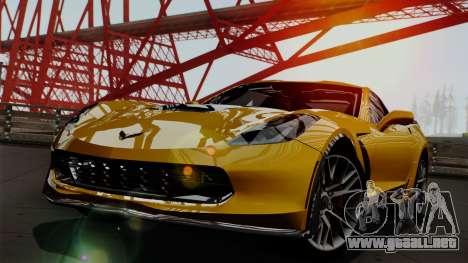 Chevrolet Corvette Z06 1.0.1 para GTA San Andreas