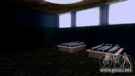 Retextured interior de la mansión de MADD Dogg para GTA San Andreas quinta pantalla
