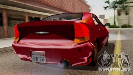 GTA 3 Kuruma SA Style para GTA San Andreas left