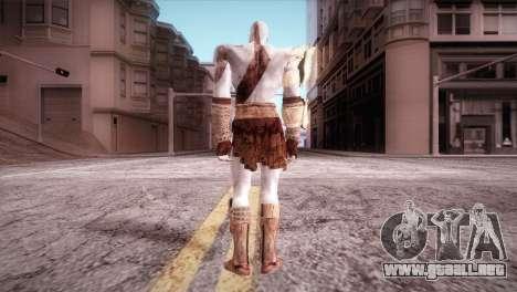 God Of War 3 Kratos para GTA San Andreas segunda pantalla