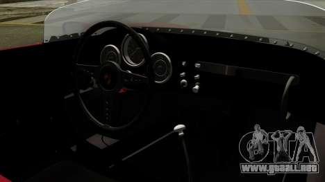 Porsche 550A Spyder 1956 para la visión correcta GTA San Andreas