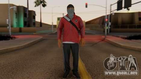 [BF Hardline] Gang Professional para GTA San Andreas segunda pantalla