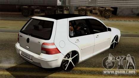 Volkswagen Golf 2004 Edit para vista lateral GTA San Andreas