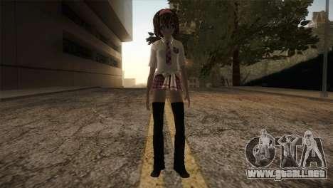 Rasta School Girl para GTA San Andreas segunda pantalla