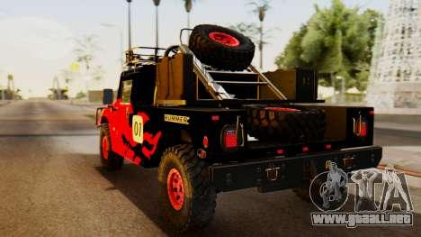 Hummer H1 1993 Baja Edition para GTA San Andreas left