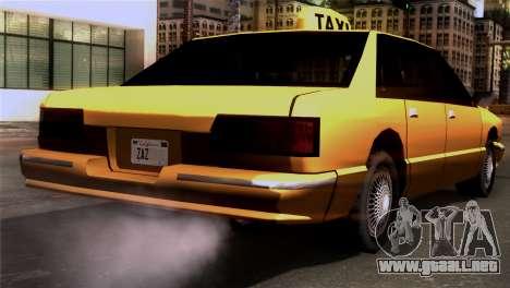 Taxi Kuruma 0.9 para GTA San Andreas left