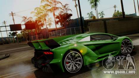 Pegassi Zentorno Veneno para visión interna GTA San Andreas