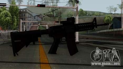 AR-15 Elcan para GTA San Andreas segunda pantalla