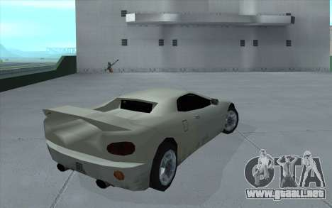 GTA 3 Infernus SA Style para GTA San Andreas left