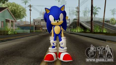 Sonic the Hedgehog HD para GTA San Andreas segunda pantalla