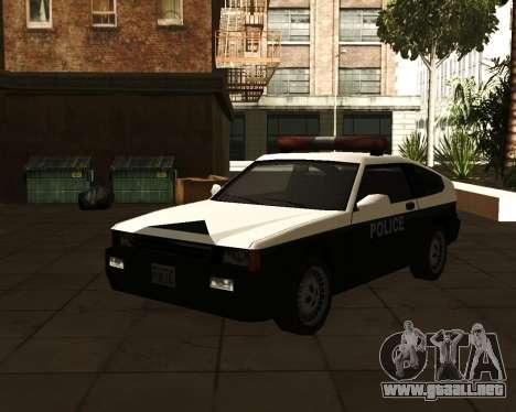 Japanese Police Car Blista para GTA San Andreas