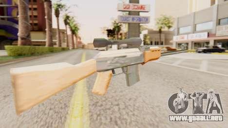 Zastava M76 para GTA San Andreas segunda pantalla