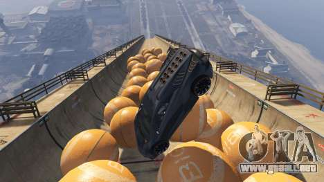 GTA 5 Race the balls v1.2 cuarto captura de pantalla