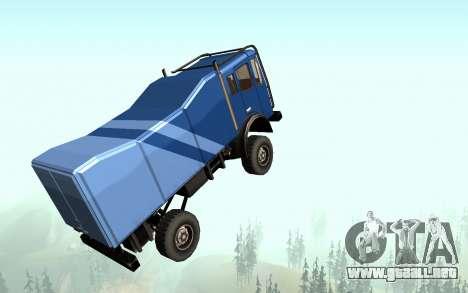 New Sky para GTA San Andreas sucesivamente de pantalla