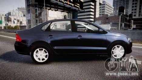 Volkswagen Polo para GTA 4 left