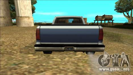 New Yosemite v2 para la vista superior GTA San Andreas