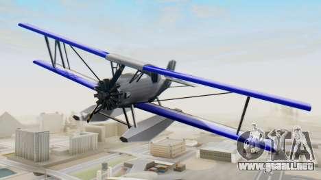 Un cropduster-Hidroavión v1.0 para la visión correcta GTA San Andreas