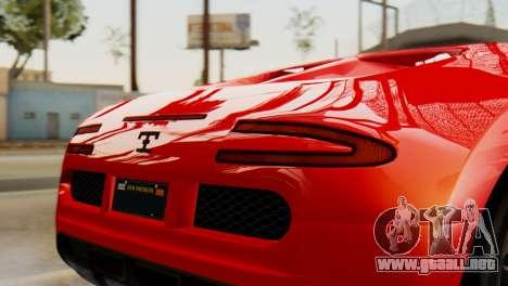 GTA 5 Adder Secondary Color Tire Dirt para la visión correcta GTA San Andreas