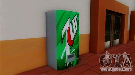 Refresco 7UP para GTA San Andreas segunda pantalla