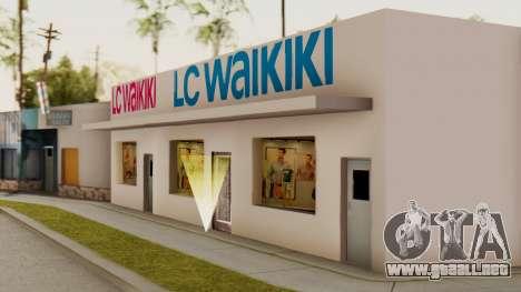 LC Waikiki Shop para GTA San Andreas